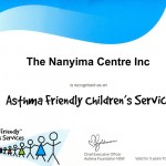 Asthma Friendly Children's Service, May 2011